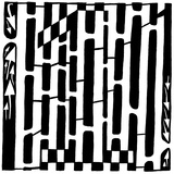 Number One 1 Maze Prints by Yonatan Frimer