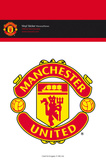 Manchester United Crest Vinyl Stickers Stickers
