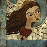 Błękitny anioł Plakaty autor Teresa Kogut