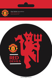Manchester United - Red Devils Vinyl Stickers Stickers
