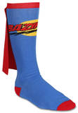 The Big Bang Theory - Bazinga Cape Socks Superman Novelty