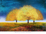 Dreaming Trio Print by Melissa Graves-Brown