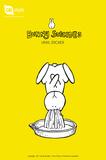 Bunny Suicides - Jucier Vinyl Sticker Pegatinas