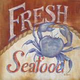 Fresh Seafood Posters by Kim Lewis