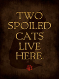 Spoiled Cat Prints by Stephanie Marrott