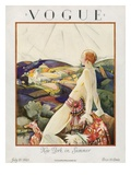 Vogue Cover - July 1923 Regular Giclee Print by Bradley Walker Tomlin