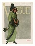 Vogue Cover - November 1910 Giclee Print