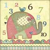 Number Elephant Prints by Jo Moulton