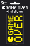 Game Over Vinyl Sticker Stickers
