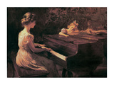 Songs Of Childhood Prints by Charles Courtney Curran