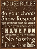 House Rules Prints by Stephanie Marrott