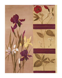 Windowpane Floral II Posters by Muriel Verger