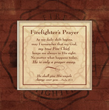 Firefighter's Prayer Posters