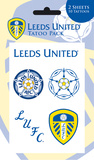 Leeds United Temporary Tattoos Temporary Tattoos