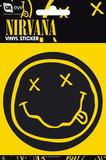 Nirvana Smiley Vinyl Sticker Stickers