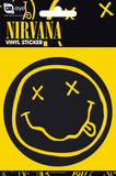 Nirvana Smiley Vinyl Stickers Tarrat