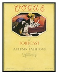 Vogue Cover - September 1923 Regular Giclee Print by Bradley Walker Tomlin