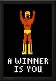 A Winner Is You Video Game Poster Poster