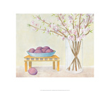 Cherry Blossoms And Plums Posters by Elizabeth Allen