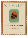 Vogue Cover - September 1925 Regular Giclee Print by  Libiszewski