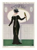 Vogue Cover - November 1911 Regular Giclee Print by Mrs. Newell Tilton