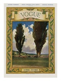 Vogue Cover - May 1905 Regular Giclee Print