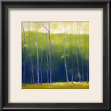 Summer Leaves Framed Giclee Print by Teri Jonas