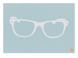 White Glasses Prints by  NaxArt