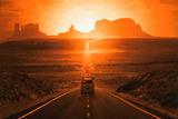 Anıt Vadisi (Monument Valley) - Poster