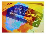 Ferrari Engine Watercolor Posters by  NaxArt