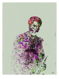 Joe Henderson Watercolor Photo by  NaxArt