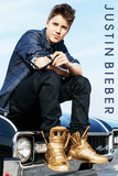 Justin Bieber-Car Photo