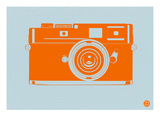 Orange Camera Posters by  NaxArt