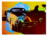 Ferrari Watercolor Prints by  NaxArt