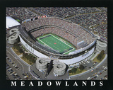 New York Jets Old Meadowlands Stadium Posters by Brad Geller