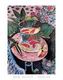 Pesci rossi, 1912 Poster di Henri Matisse