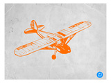 Orange Plane 2 Posters by  NaxArt