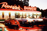 Rosie&#39;S Diner-Colour Print