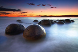 Moeraki Boulders Photo