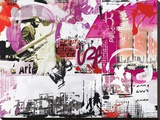 CautionFds Bedruckte aufgespannte Leinwand von Vincent Gachaga