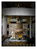 Nikko Golden Sculpture Prints by  NaxArt