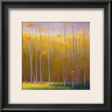 Autumn Leaves Framed Giclee Print by Teri Jonas