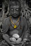 Buddha Stone Print