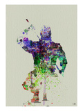 Ninja Watercolor Posters by  NaxArt