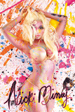 Nicki Minaj en bikini et en peinture Posters
