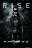 Batman-The Dark Knight Rises-Catwoman-Rise Póster