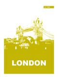 London Poster Art by  NaxArt