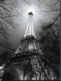 Sa Majesté La Tour Eiffel Stretched Canvas Print by Antoine Carrara