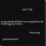 Aucun Pétale Kunstdruk op gespannen doek van Audrey & Fabrice Cilpa