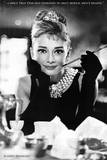 Audrey Hepburn Breakfast at Tiffany's Poster